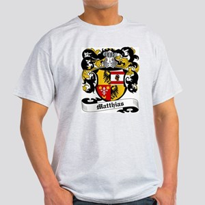 Matthias Coat of Arms Ash Grey T-Shirt