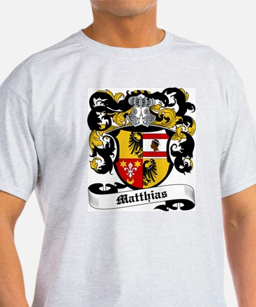 Matthias Coat of Arms Ash Grey T-Shirt