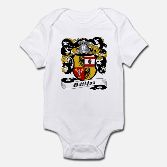 Matthias Coat of Arms Infant Bodysuit
