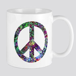 Colorful Peace Sign Mug