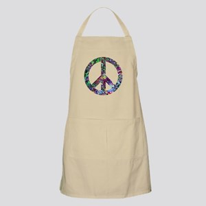 Colorful Peace Sign Apron