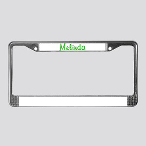 Melinda Glitter Gel License Plate Frame