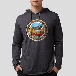 Nevada template Mens Hooded Shirt