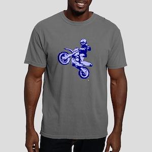 Nick2 mirrored blue tran Mens Comfort Colors Shirt