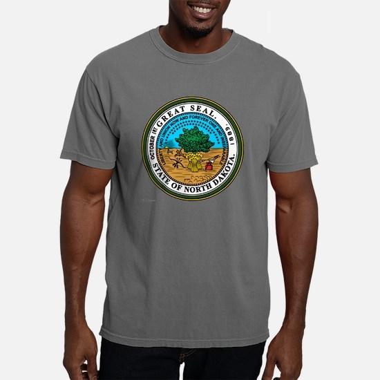 North Dakota template.pn Mens Comfort Colors Shirt