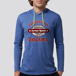 PROPERTY of GH Damian Spinelli c Mens Hooded Shirt