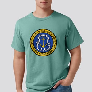 Rhode Island template.pn Mens Comfort Colors Shirt