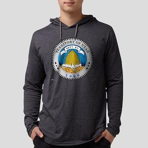 Utah template Mens Hooded Shirt