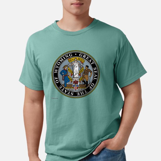 Wyoming template.png Mens Comfort Colors Shirt