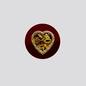 Clockwork Heart Mini Button