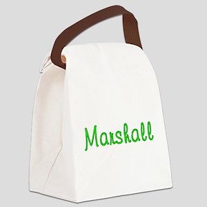 Marshall Glitter Gel Canvas Lunch Bag