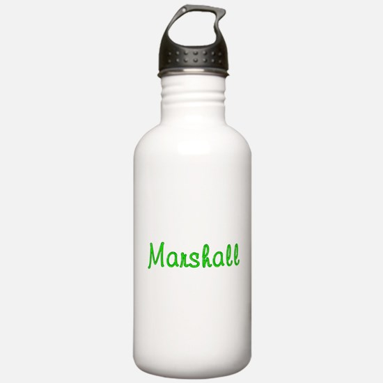 Marshall Glitter Gel Water Bottle