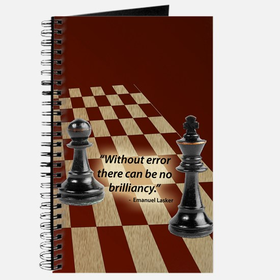 Chess Quote- Brilliance Journal