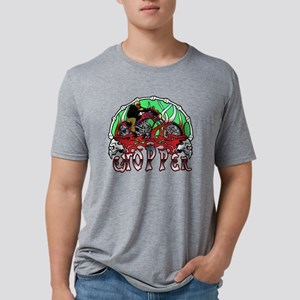 chopperbones4 Mens Tri-blend T-Shirt