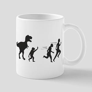 T Rex Evolution Mug