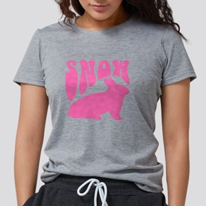 sno-bunny Womens Tri-blend T-Shirt