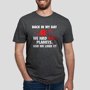 nineplanetss3A Mens Tri-blend T-Shirt