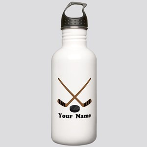 Personalized Hockey Stainless Water Bottle 1.0L