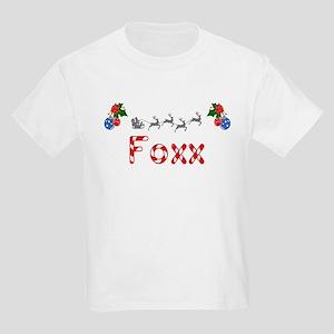 Foxx, Christmas Kids Light T-Shirt