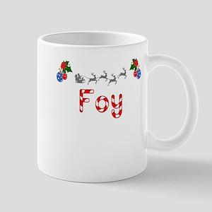 Foy, Christmas Mug