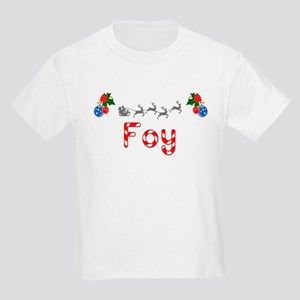 Foy, Christmas Kids Light T-Shirt
