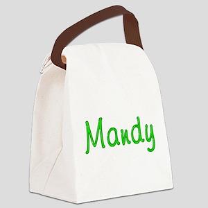 Mandy Glitter Gel Canvas Lunch Bag
