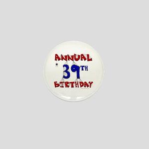 Annual 39th Birthday Mini Button (10 pack)