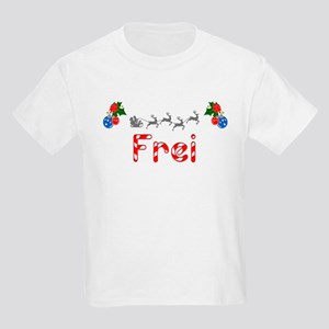 Frei, Christmas Kids Light T-Shirt