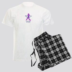 Male Breast Cancer Awareness Men's Light Pajamas