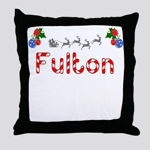 Fulton, Christmas Throw Pillow