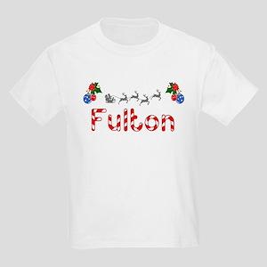 Fulton, Christmas Kids Light T-Shirt