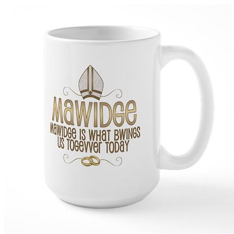 Princess Bride Mawidge Wedding Mug Large Mug