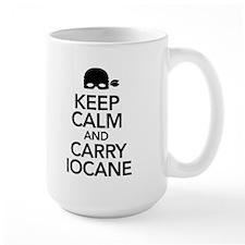 Keep Calm and Carry Iocane Large Mug