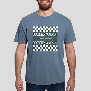 Custom Text Decorative C Mens Comfort Colors Shirt