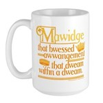 Princess Bride Mawidge Speech Large Mug