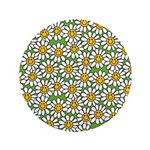 Smiley Daisy Flowers Pattern 3.5