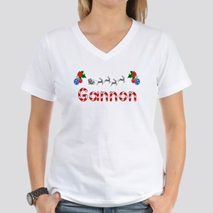 Gannon, Christmas Women's V-Neck T-Shirt