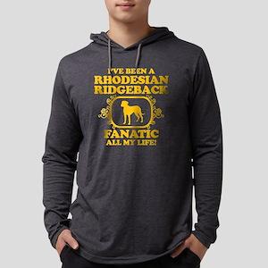 4-Rhodesian-Ridgeback Mens Hooded Shirt