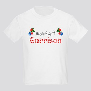 Garrison, Christmas Kids Light T-Shirt