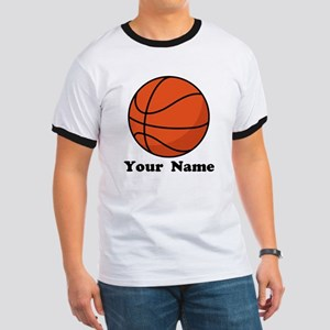 Personalized Basketball Ringer T