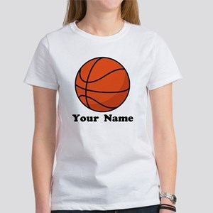 Personalized Basketball Women's T-Shirt