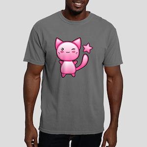 Happy Winking Kitten Mens Comfort Colors Shirt