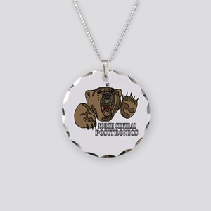 North Central Necklace Circle Charm