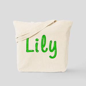 Lily Glitter Gel Tote Bag