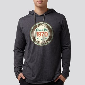 Class Of 1970 Vintage Mens Hooded Shirt