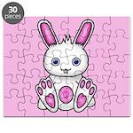 Kawaii Pink Bunny Puzzle
