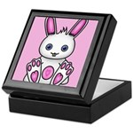 Kawaii Pink Bunny Keepsake Box