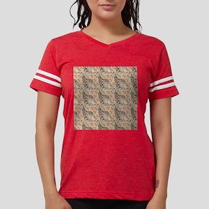 Newfoundland dog whimsy Womens Football Shirt