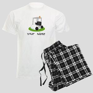 Golf Cart Gift For Golfer Men's Light Pajamas