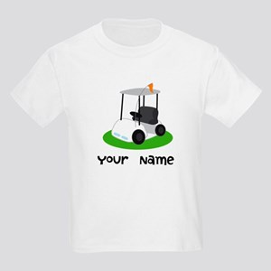Golf Cart Gift For Golfer Kids Light T-Shirt